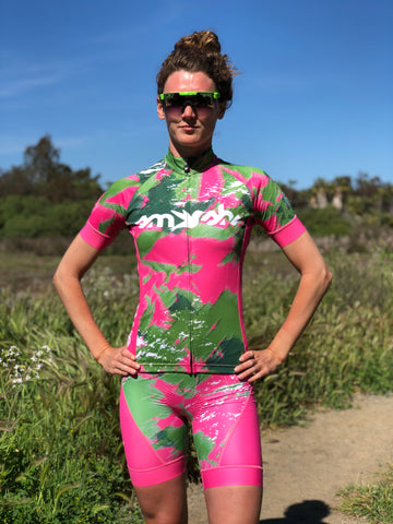 Camo Lemmon Women's Cycling Jersey