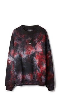 Logo Sweater - Red Marble
