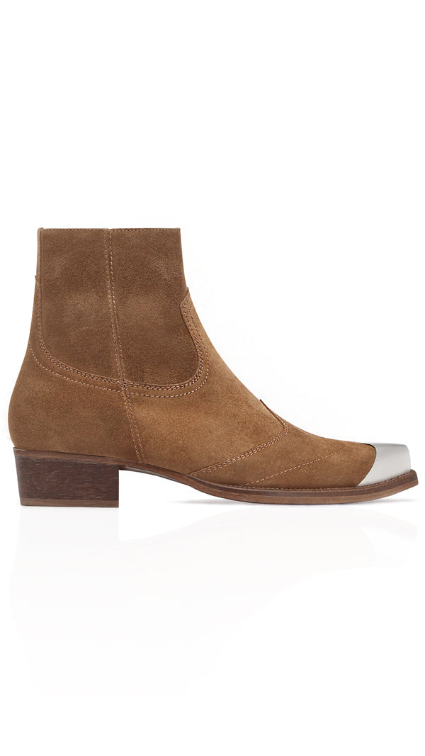 Western Boot - Tobacco