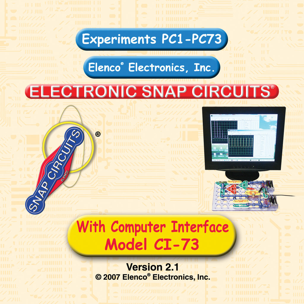 Computer Interface for Snap Circuits© CI-73