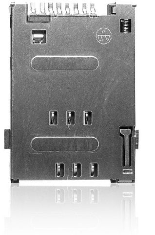 Yamaichi FMS Sim Card Connector (Push/Push, Low Profile)