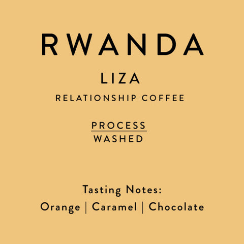 Horsham Coffee Roaster: Rwanda, Bwishaza, Wet Fermentation, Washed