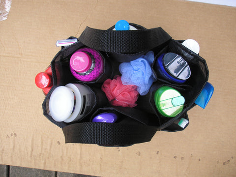 Custom Mesh Shower Caddy 12 pockets