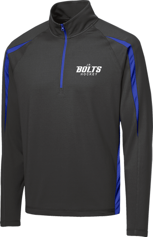 Jr. Bolts Stretch 1/2-Zip Colorblock Pullover