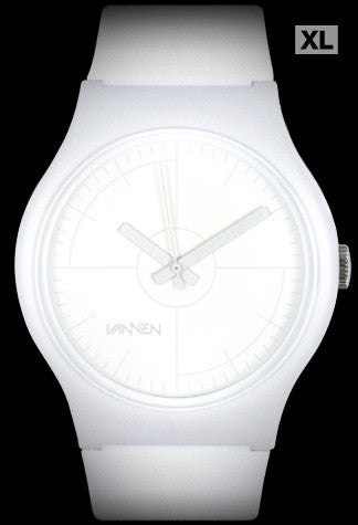 Limited Edition Vannen Watches Matte White CMYK Artist Series Watch