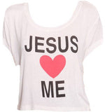 Jesus Loves Me Top