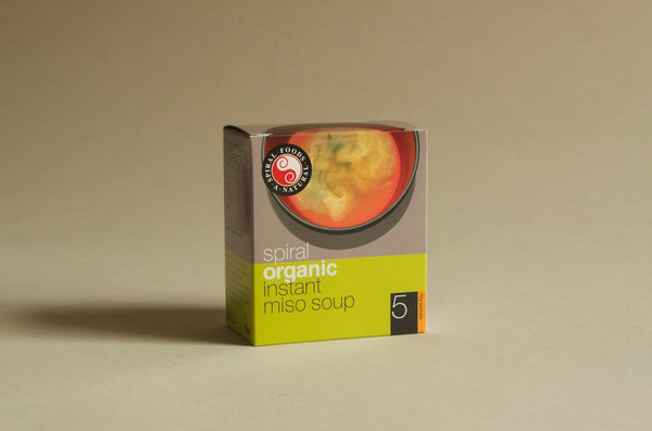 Organic Instant Miso Soup - Box of 5 x 10g