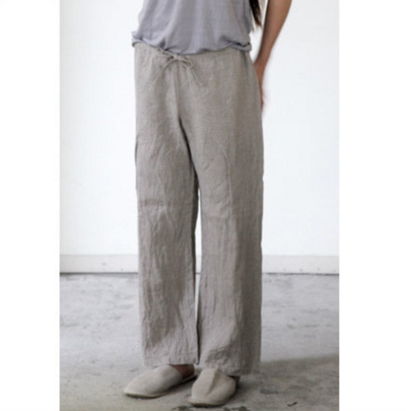 Fog Linen Work Oise Draw String Pants