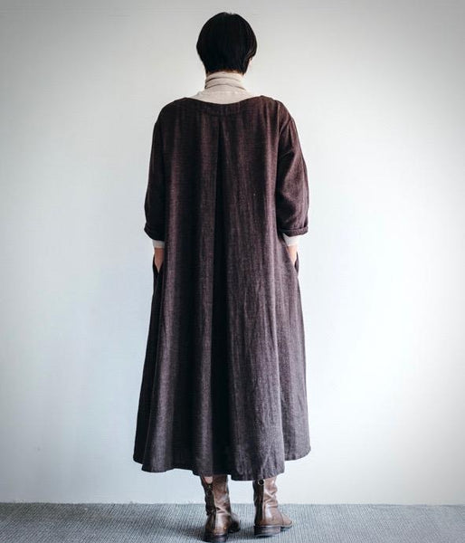 Fog Linen Work Mireille Dress