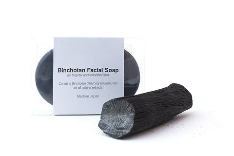 Binchotan Charcoal Facial Soap