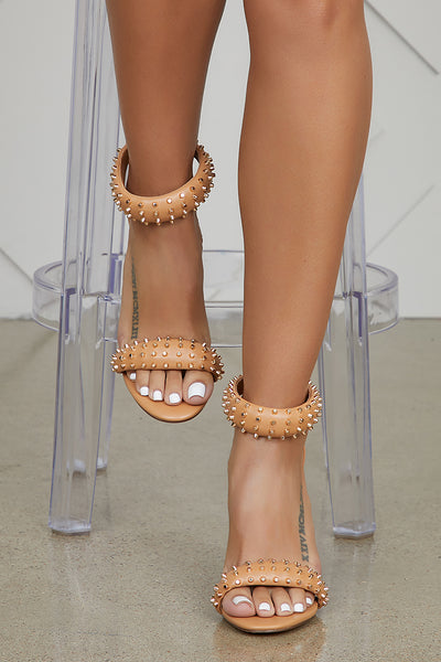 Stand Up Studded Heel