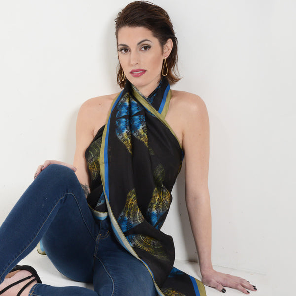 Scarf as Halter