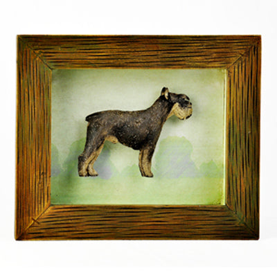 SCHNAUZER SHADOW BOX