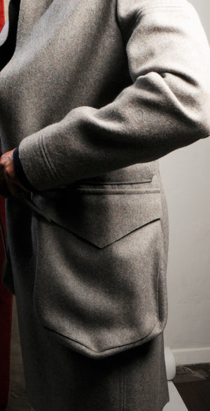Alexander Milton Coat made from the finest wool - Ocha and Garth