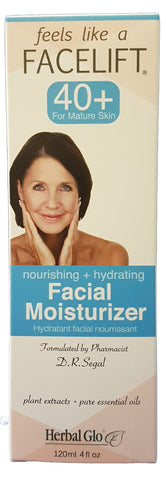 Feel Like a Facelift 40+ Facial Moisturizer, 120ml