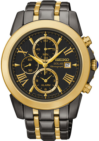 Seiko Le Grand Sport Solar Alarm Chronograph SSC218P Gents Watch