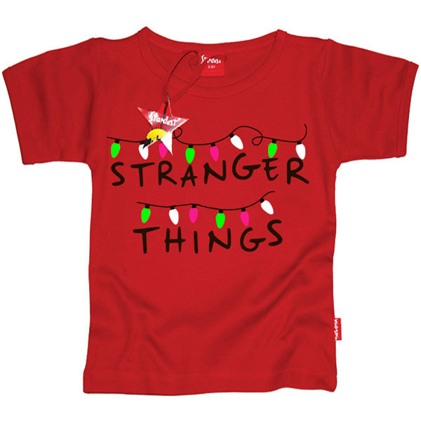 Stranger Things Kids T-Shirt by Stardust