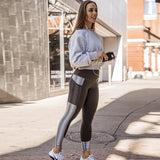 Leggings - Womens Pocket High Waist Leggings for Fitness Workout Active Wear