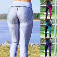 Leggings - Womens Push Up Sport Leggings - Fit Yoga Workout Active Wear