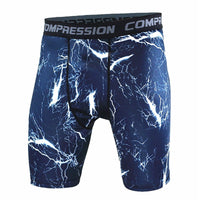 Compressions - Mens Camouflage Tight shorts - Running training compression Quick-dry shorts