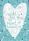 """You Stole My Heart"" by Emily Kelly - Framed Print"