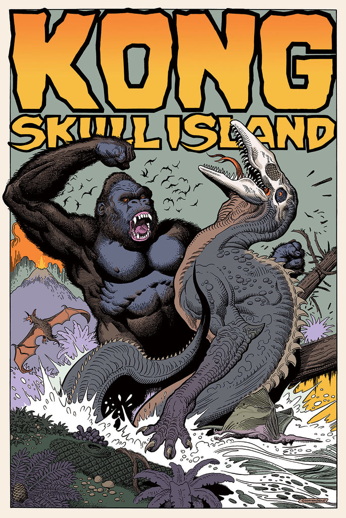 KONG: SKULL ISLAND BY WILLIAM STOUT ON SALE INFO!
