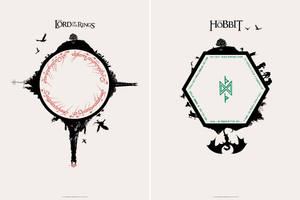 "Matt Ferguson ""The Lord of the Rings & The Hobbit"" Timed Edition SET"