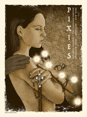 "Timothy Pittides ""Pixies - Surfer Rosa 30th Anniversary Show"""