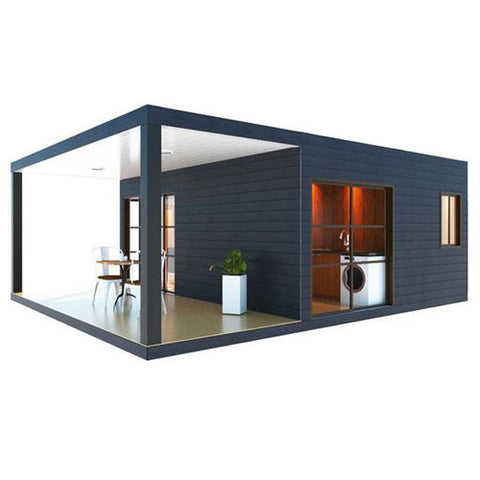 1 Bedroom Container Home With Covered Deck