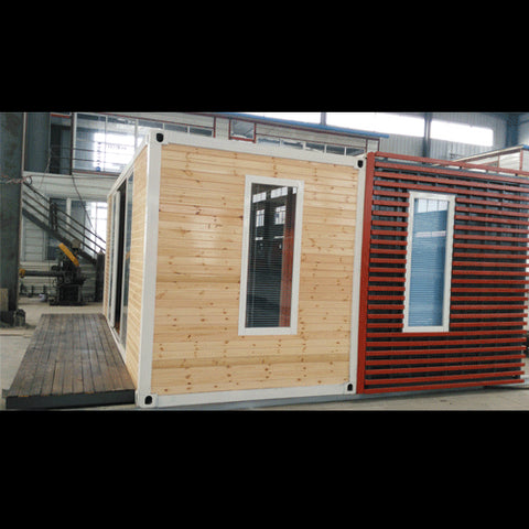 Image of 2 Bedroom Shipping Container Home With Deck
