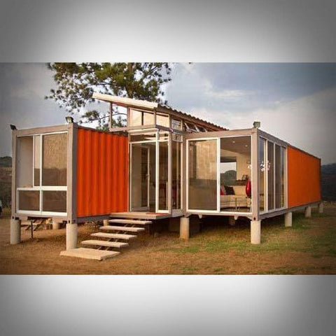 Image of 3 Bedroom / 2 Bath Deluxe Container Home