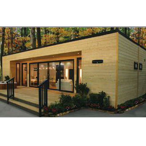 Image of 3 Bedroom Shipping Container Home With Deck