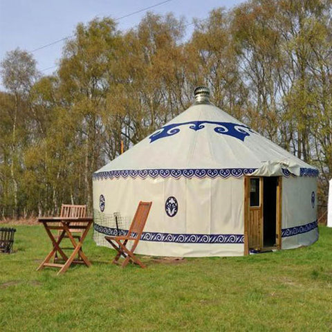 26ft Redwood Yurt Home Kit