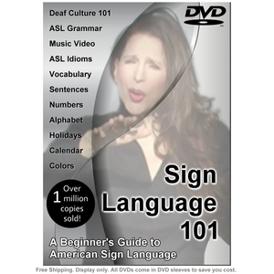 Sign Language 101: A Beginner's Guide to American Sign Language DVD