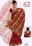 Saree Pink Georgette