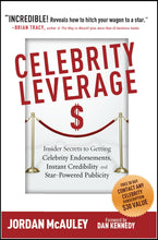 Load image into Gallery viewer, Celebrity Leverage by Jordan McAuley Front Cover