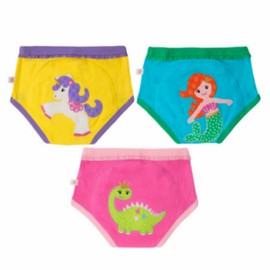 Zoocchini Organic Training Pants – Girls Fairy Tails 2T/3T