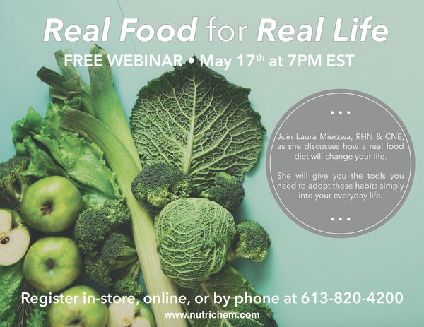 WEBINAR: Real Food for Real Life