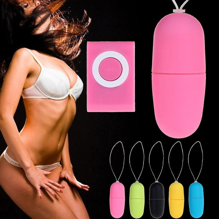 Remote Control Vibrating Egg Mini Bullet Egg - sex toys Sexwelove Online Adult Shop & Sexy Lingerie Sexwelove