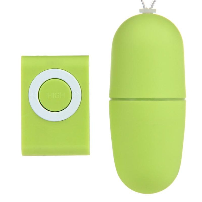 Remote Control Vibrating Egg Mini Bullet Egg - sex toys Sexwelove Green Online Adult Shop & Sexy Lingerie Sexwelove