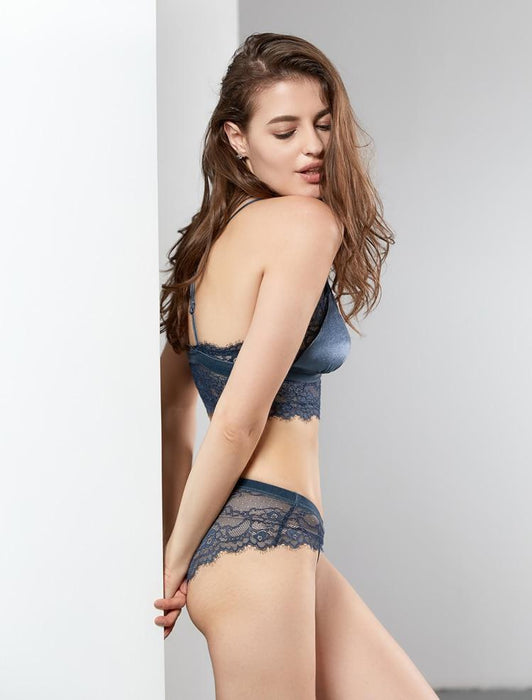 New Fashion Sexy Velvet Bra set - Lingerie SexWeLove ™ Online Adult Shop & Sexy Lingerie Sexwelove