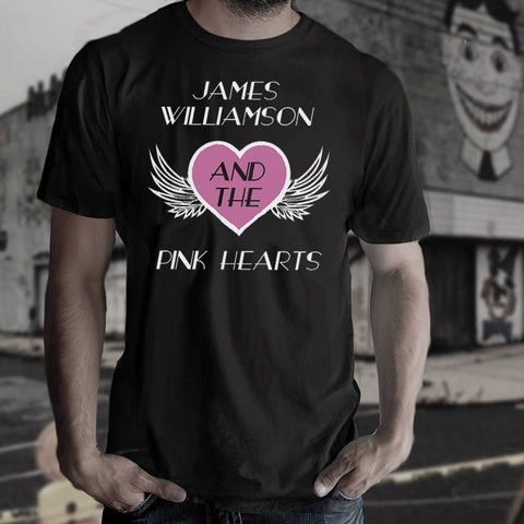 James Williamson & The Pink Hearts Official Mens T-Shirt