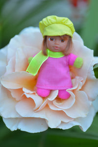 Cute Baby Matchbox Doll for Girls – Estrella – The Spanish Collection - Stork Babies - beautiful handcrafted dolls