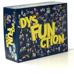 dysFUNction board game game box