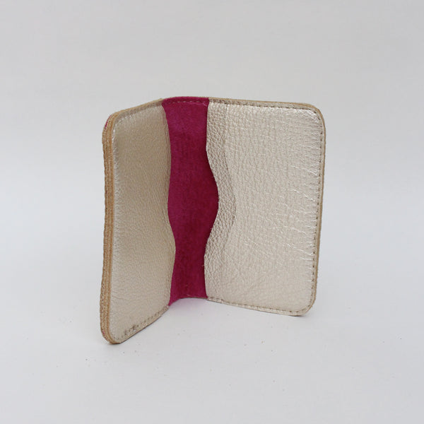 Card Wallet, Platinum/Pink