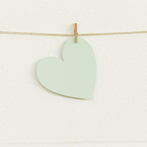 Paper Hearts, Mint Medium, 20pk