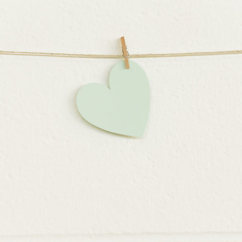 Paper Hearts, Mint Small, 100pk