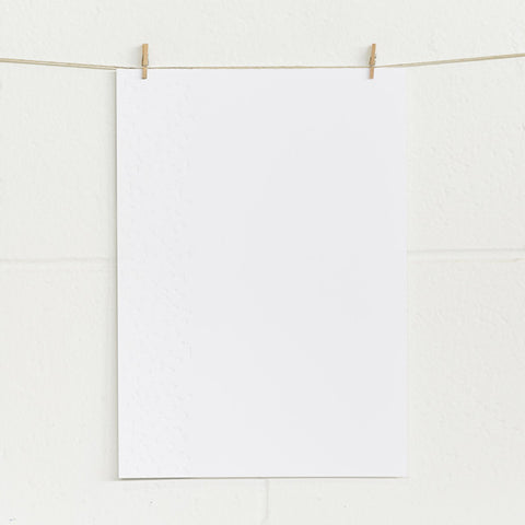 'Confetti' Embossed on White, PRINTme Paper, 50pk