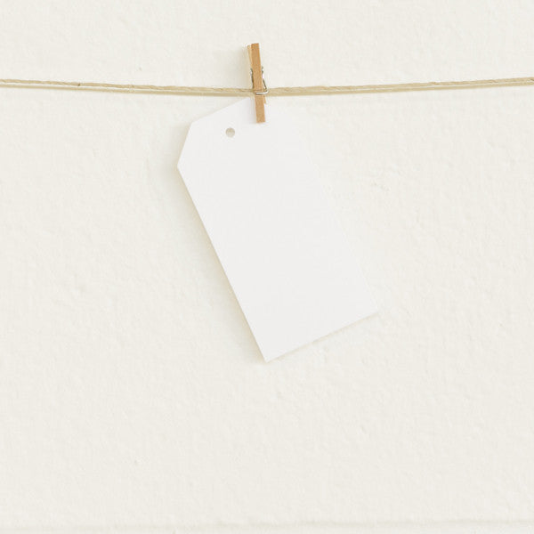 Shipping Tags, White, 20pk