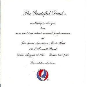 One From The Vault By The Grateful Dead (2004-08-31)